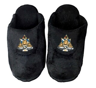 DISCOUNT-Phi Sigma Sigma Crest - Shield Slippers