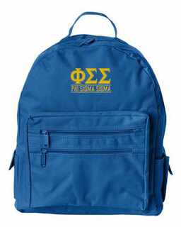 Phi Sigma Sigma Custom Text Backpack