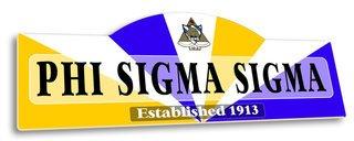 Phi Sigma Sigma Display Sign