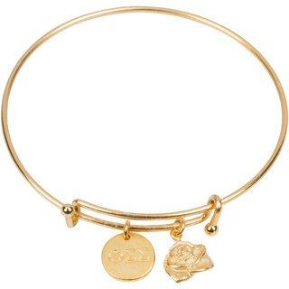 Phi Sigma Sigma Expandable Bracelet