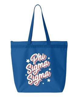 Phi Sigma Sigma Flashback Tote Bag