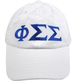 Phi Sigma Sigma Greek Letter Hat