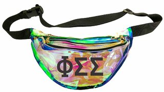 Phi Sigma Sigma Holographic Fanny Pack