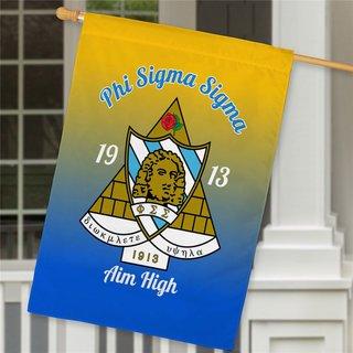 Phi Sigma Sigma House Flag