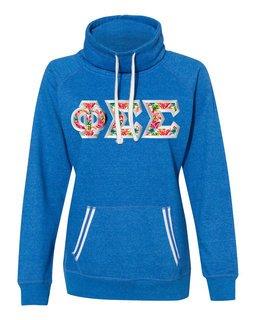 Phi Sigma Sigma J. America Relay Cowlneck Sweatshirt