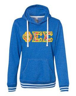 Phi Sigma Sigma J. America Relay Hooded Sweatshirt