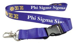 Phi Sigma Sigma Lanyard