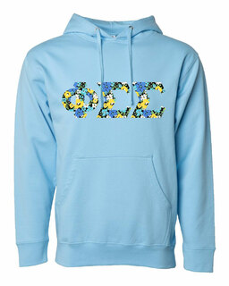 Phi Sigma Sigma Lettered Independent Trading Co. Hooded Pullover Sweatshirt