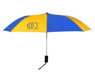 Phi Sigma Sigma Lettered Umbrella