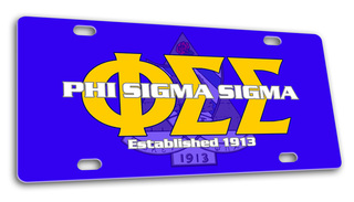 Phi Sigma Sigma License Cover
