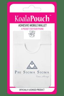 Phi Sigma Sigma Logo Koala Pouch
