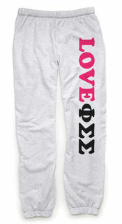 Phi Sigma Sigma Love Sweatpants