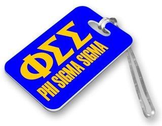 Phi Sigma Sigma Luggage Tag