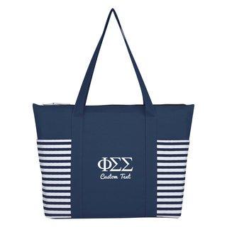 Phi Sigma Sigma Maritime Tote Bag