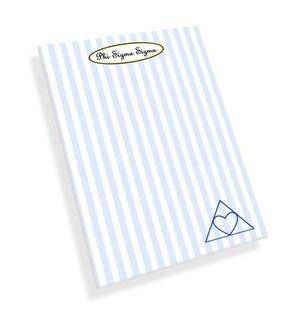Phi Sigma Sigma Mascot Notepad