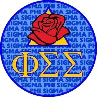 Phi Sigma Sigma Mascot Round Decals