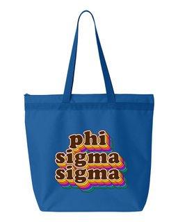 Phi Sigma Sigma Maya Tote Bag