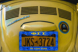Phi Sigma Sigma New License Plate Frame