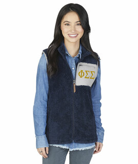 Phi Sigma Sigma Newport Fleece Vest