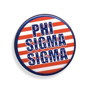 Phi Sigma Sigma Patriotic USA Button