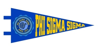 Phi Sigma Sigma Pennant Decal Sticker