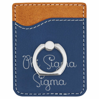Phi Sigma Sigma Phone Wallet with Ring