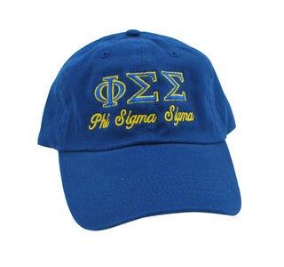 Phi Sigma Sigma Script Cap