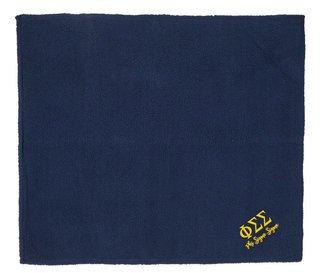 Phi Sigma Sigma Sherpa Blanket