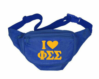Phi Sigma Sigma Sorority Fanny Pack