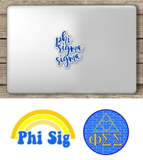 Phi Sigma Sigma Sorority Sticker Collection - SAVE!