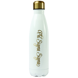 Phi Sigma Sigma Stainless Steel Shimmer Water Bottles