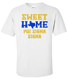 Phi Sigma Sigma Sweet Home Tee