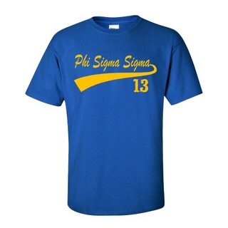 Phi Sigma Sigma Tail T-Shirts