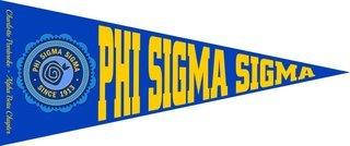 Phi Sigma Sigma Wall Pennants