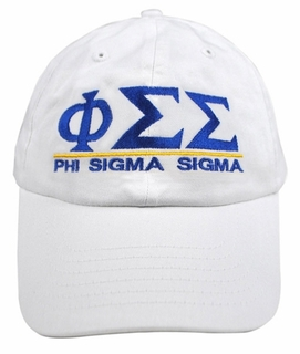Phi Sigma Sigma World Famous Line Hat - MADE FAST!