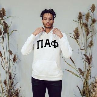 Pi Alpha Phi Arched Hooded Sweatshirt