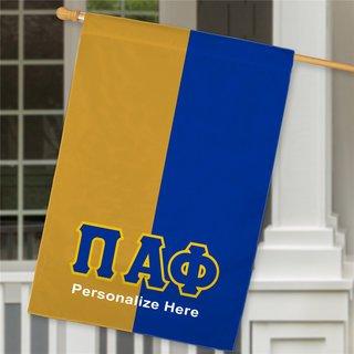 Pi Alpha Phi Crest House Flag