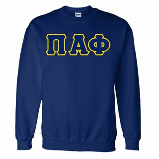 Pi Alpha Phi Custom Twill Crewneck Sweatshirt