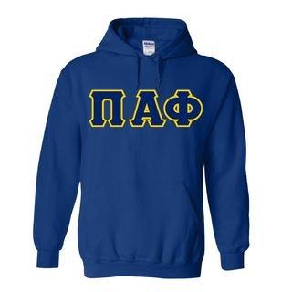 Pi Alpha Phi Custom Twill Hooded Sweatshirt