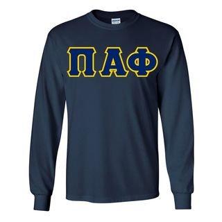 Pi Alpha Phi Custom Twill Long Sleeve T-Shirt