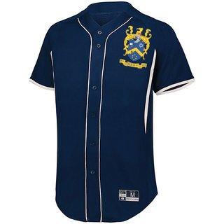 Pi Alpha Phi Game 7 Full-Button Baseball Jersey