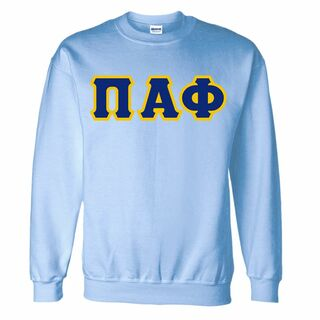 Pi Alpha Phi Lettered Crewneck Sweatshirt