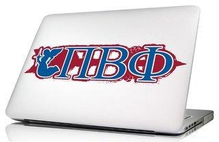Pi Beta Phi 10 x 8 Laptop Skin/Wall Decal