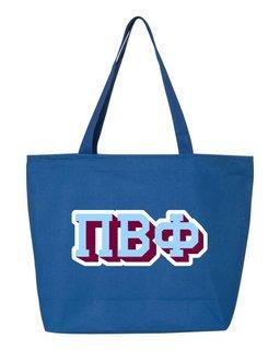Pi Beta Phi 3D Letter Tote Bag