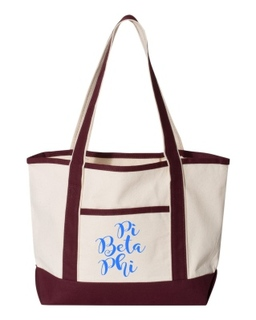 Pi Beta Phi Sailing Tote Bag