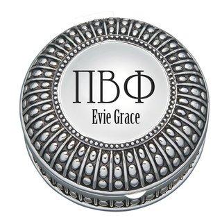 Pi Beta Phi Antique Beaded Pin Box