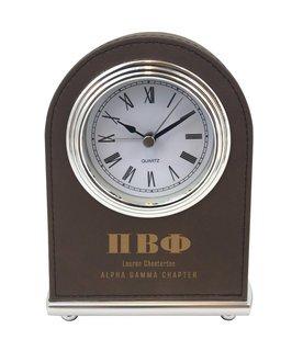 Pi Beta Phi Arch Desk Clock