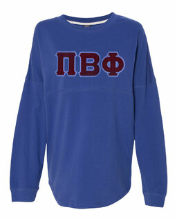 DISCOUNT-Pi Beta Phi Athena French Terry Dolman Sleeve Sweatshirt
