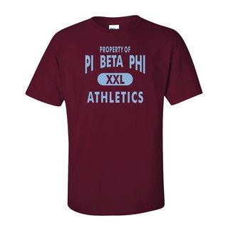 Pi Beta Phi Athletics T-Shirts