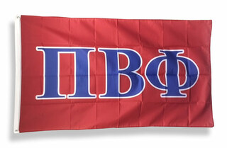 Pi Beta Phi Big Greek Letter Flag